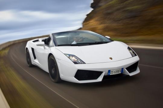 2012 Lamborghini Gallardo exterior