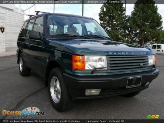 1997 Land Rover Range Rover Photo 1