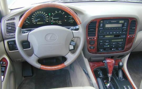 Lexus 3 Row Suv >> 2000 Lexus LX 470 - VIN: JT6HT00W1Y0117507 - AutoDetective.com