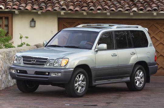 2005 Lexus LX 470 Photo 1