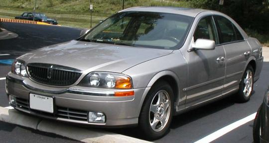 2002 Lincoln LS Photo 1
