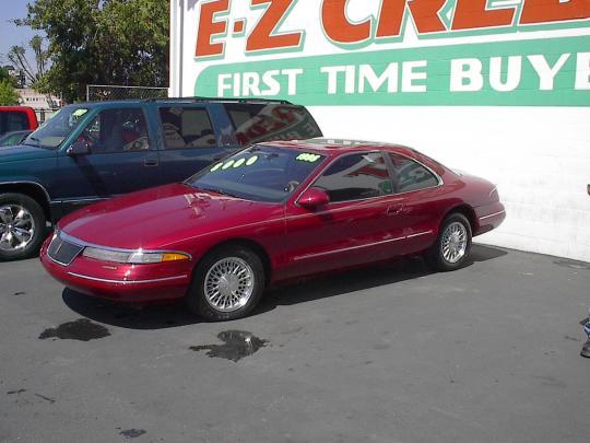 1995 Lincoln Mark Viii Vin 1lnlm91v2sy653395 Fuse Box