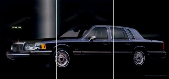 1993 Lincoln Town Car Vin 1lnlm82w9py632164 1991 Signature Series Fuse Box