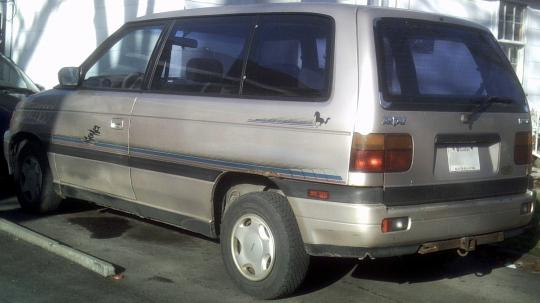 1991 mazda mpv vin jm3lv5225m0313536 for Mazda motor of america inc