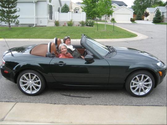 2007 Mazda Mx 5 Miata Vin Jm1nc25f370126952