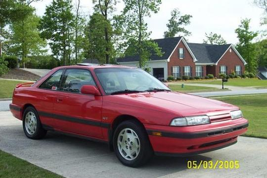 1991 Mazda MX-6 - VIN: 1YVGD31D4M5137192 - AutoDetective.com