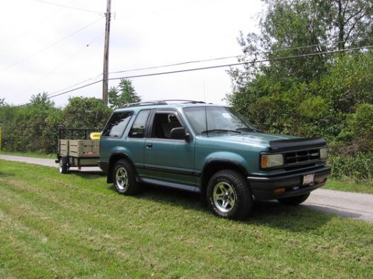1994 Mazda Navajo - Vin  4f2cu44x6rum08234