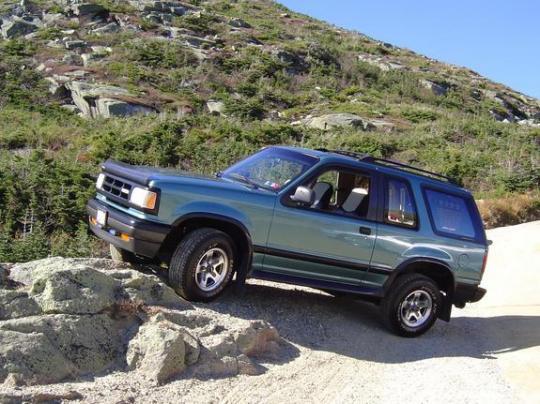 1994 Mazda Navajo - Vin  4f2cu44x5rum07916