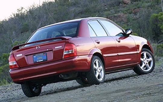 Mazda Protege5 Roof Rack 2002 Mazda Protege5 Red Protege5