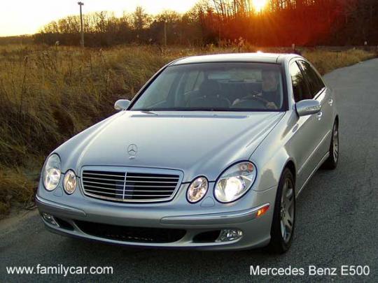 2003 Mercedes-Benz E-Class Photo 1