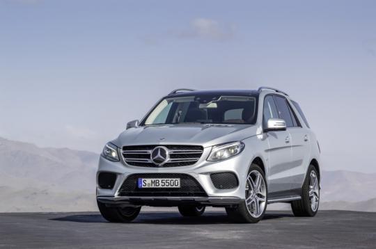 2016 Mercedes-Benz GLE-Class Photo 1
