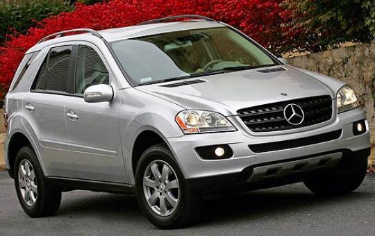 2008 Mercedes-Benz M-Class Photo 1