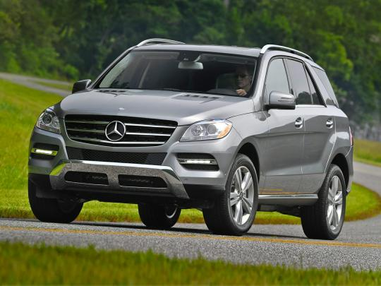 2014 Mercedes-Benz M-Class Photo 1