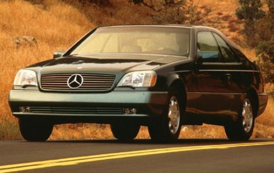 1997 Mercedes-Benz S-Class exterior