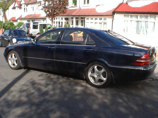 2001 Mercedes Benz S Class Vin Wdbng73j61a171487