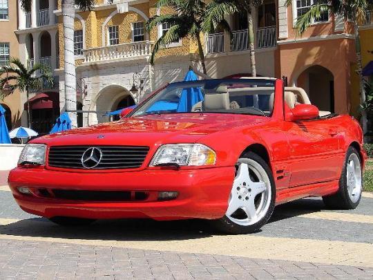 2000 Mercedes-Benz SL-Class Photo 1