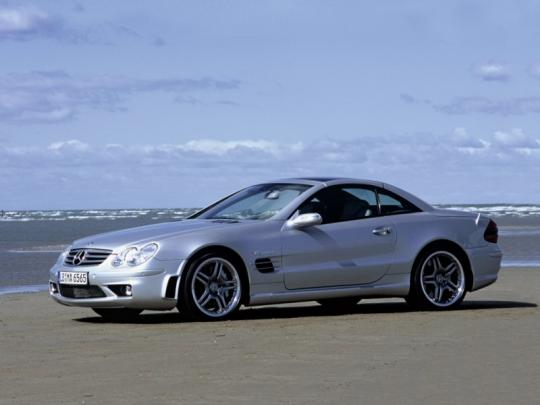 2001 Mercedes-Benz SL-Class Photo 1