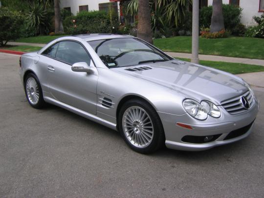 2003 Mercedes-Benz SL-Class Photo 1