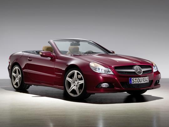 2011 Mercedes-Benz SL-Class Photo 1