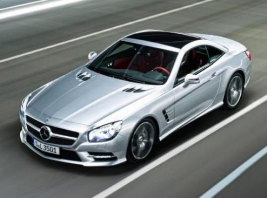 2012 Mercedes-Benz SL-Class Photo 1