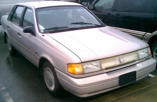 318999 1992 mercury topaz vin 1mepm36x5nk657587 autodetective com Ford Topaz at pacquiaovsvargaslive.co