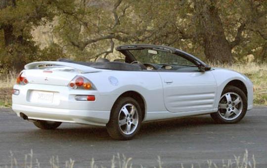 2003 Mitsubishi Eclipse Spyder Vin 4a3ae45g13e038618
