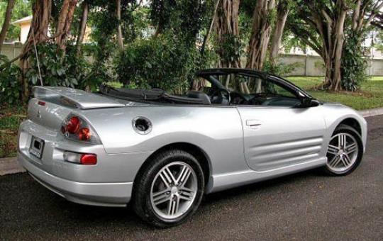 2005 Mitsubishi Eclipse Spyder Vin 4a3ae55h65e010346