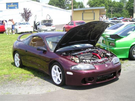 1997 mitsubishi eclipse vin 4a3al54f5ve016516 for Mitsubishi motors north america inc