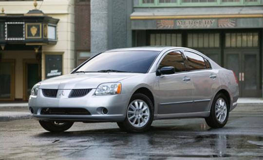 2007 Mitsubishi Galant Vin 4a3ab36fx7e033545