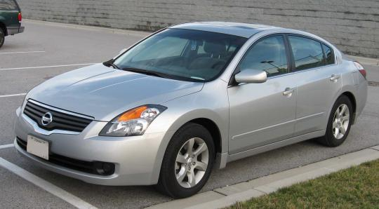 2007 Nissan Altima Photo 1