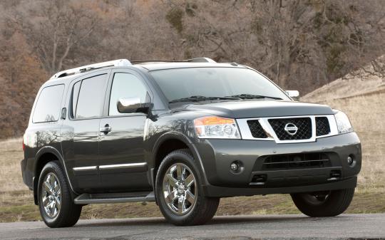 2014 Nissan Armada Photo 1