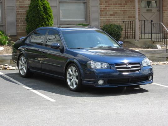 2002 Nissan Maxima Photo 1