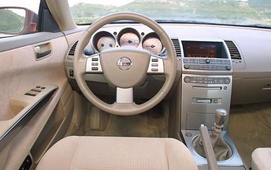 2004 Nissan Maxima 3 5 Se Interior