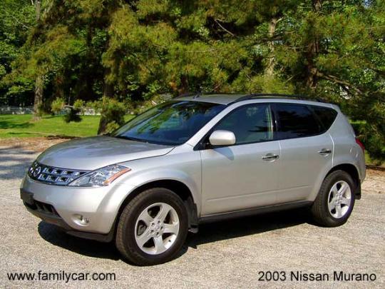 2003 Nissan Murano - VIN: JN8AZ08W73W226688 - AutoDetective.com