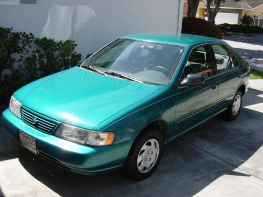 1996 Nissan Sentra - VIN: 1N4AB41D8TC721506 ...