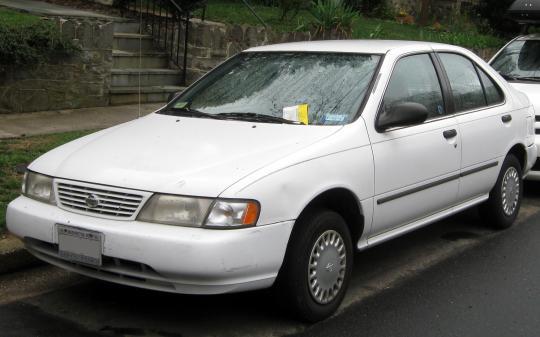 1997 Nissan Sentra Vin 1n4ab41d7vc757660