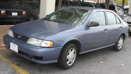 1998 Nissan Sentra - VIN: 1N4AB41D4WC763241 ...