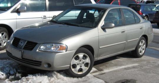2004 Nissan Sentra Photo 1