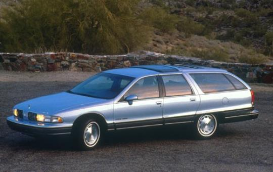 1991 Oldsmobile Custom Cruiser exterior