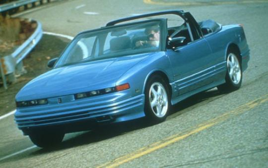 1995 Oldsmobile Cutl Supreme S Series I Coupe Exterior