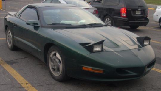 1993 Pontiac Firebird Vin 2g2fv22p6p2214666