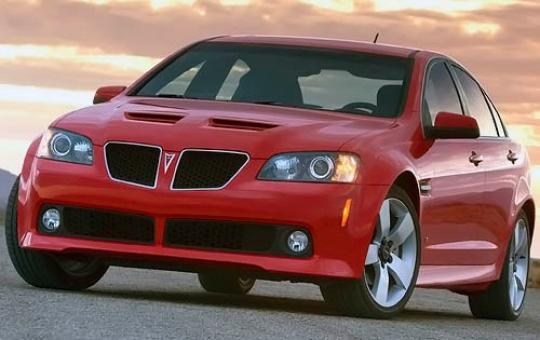 2008 Pontiac G8 exterior