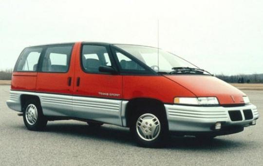 1990 Pontiac Trans Sport exterior