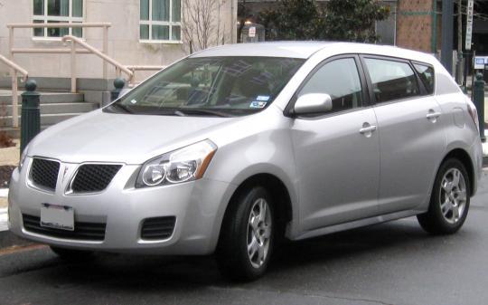 2009 Pontiac Vibe 2 4L