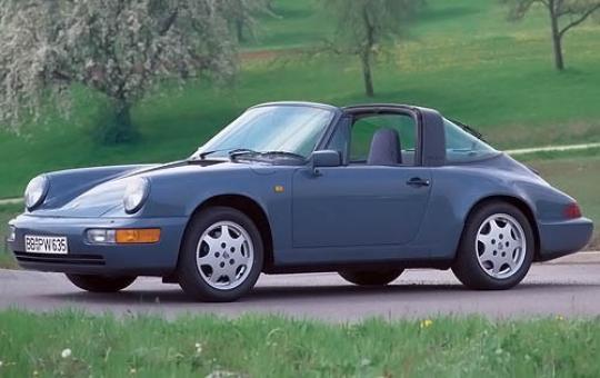 1991 Porsche 911 exterior