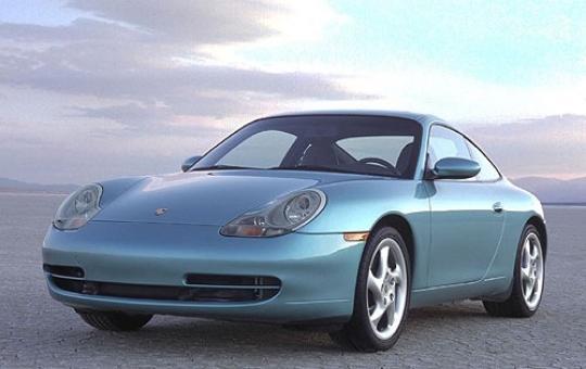 2000 Porsche 911 exterior