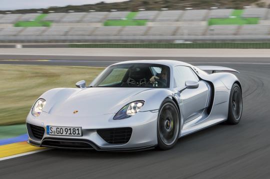 photos videos - Porsche 918 Production Wallpaper
