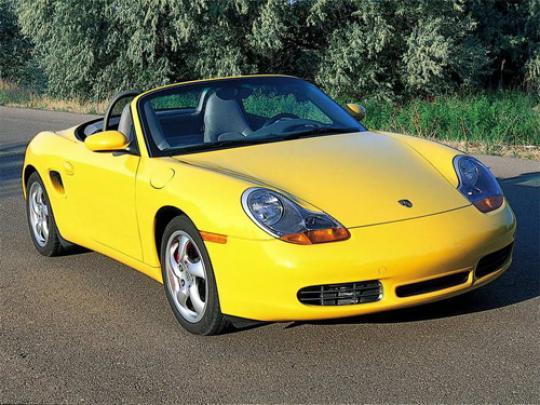 2001 Porsche Boxster Photo 1