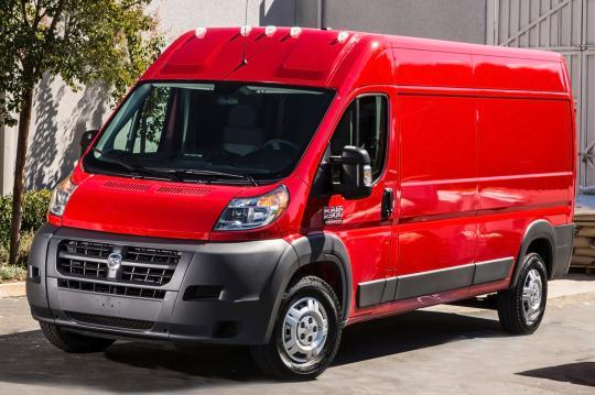 2015 Ram Promaster Cargo Van Red 200 Interior And Exterior Images