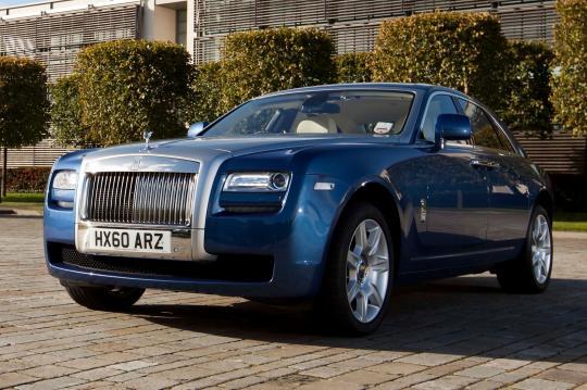 2012 Rolls Royce Ghost Vin Sca664s50cux50673
